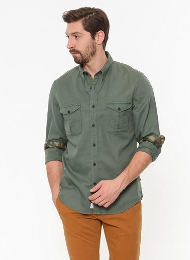 Timberland Uzun Kollu Gömlek Yeşil